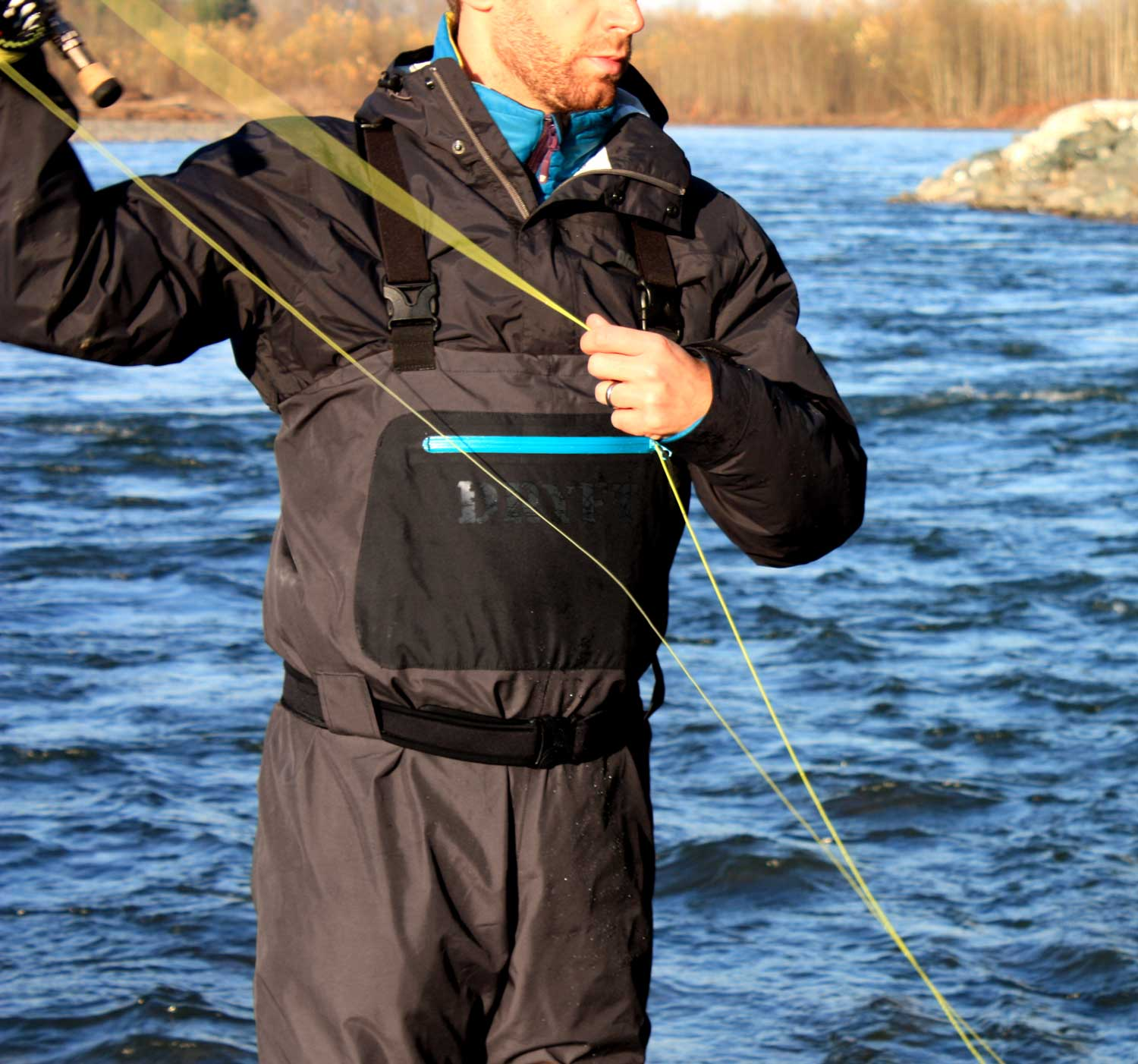 Dryft waders casting dryft fishing waders for Fly fishing waders