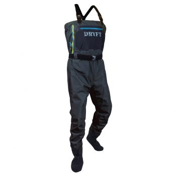 Dryft primo wading jacket review dryft fishing waders for Fishing waders reviews