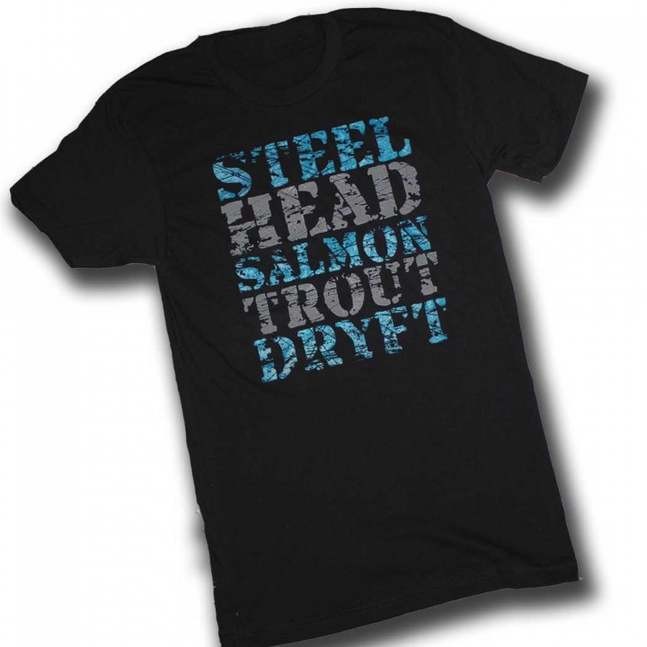 Steelhead Salmon Trout DRYFT Committed t-shirt