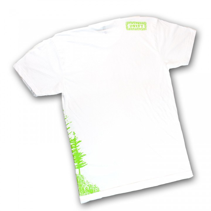 DRYFT Boat Tee Remix white - back