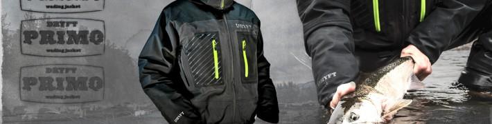 DRYFT Primo breathable waterproof wading jacket