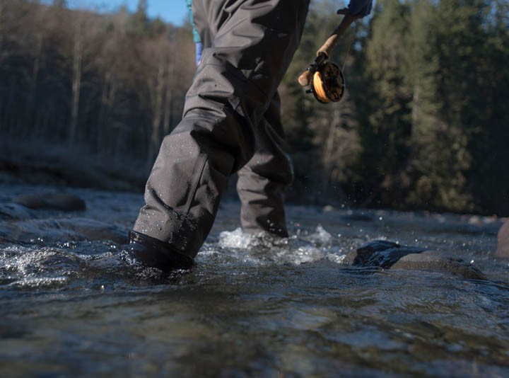 Primo waders legs and gravel guards