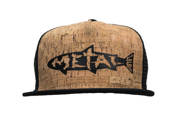 dryft metal on cork hat