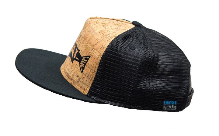dryft metal on cork hat