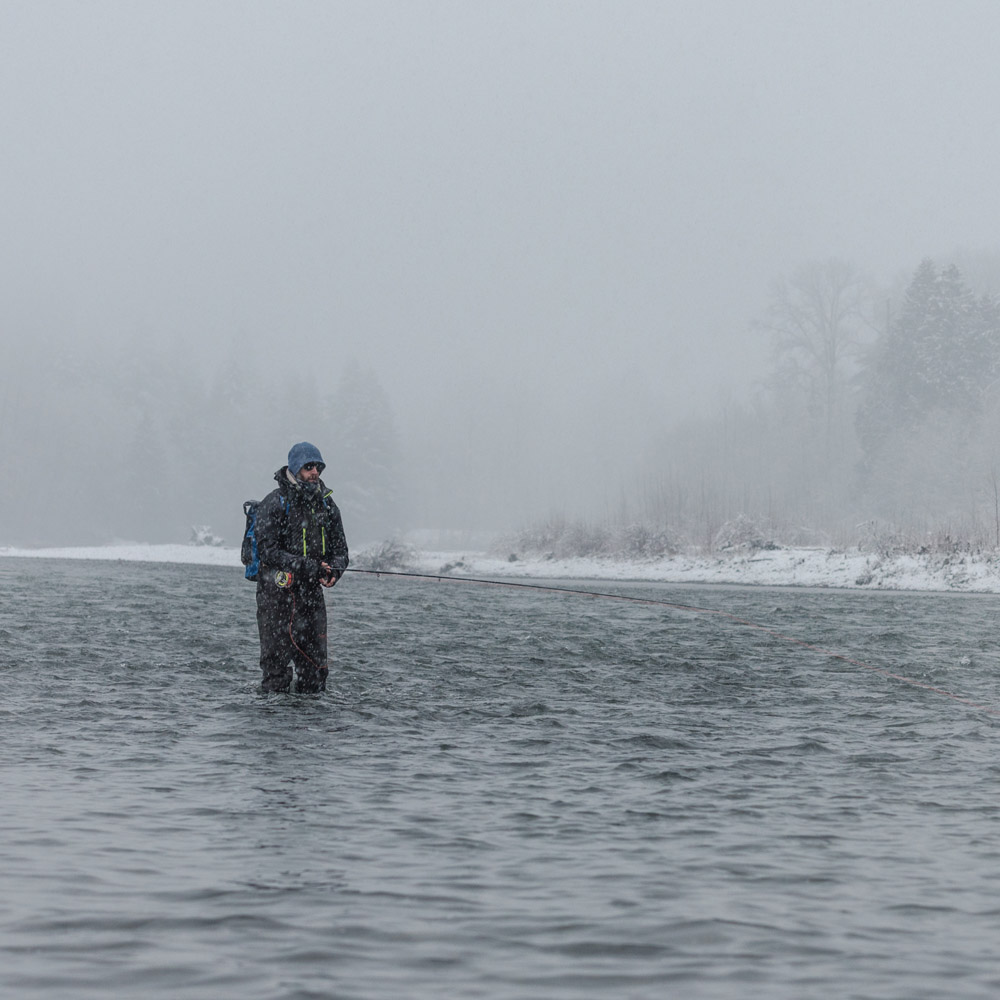 dryft waders winter fly fishing