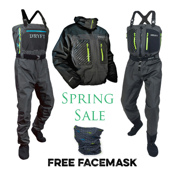 dryft free facemask promo spring sale
